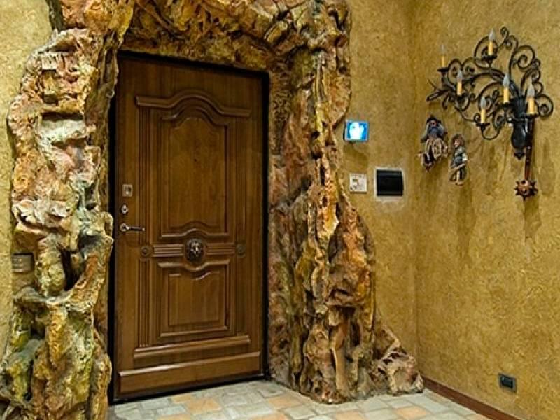 оформление входной двери квартиры