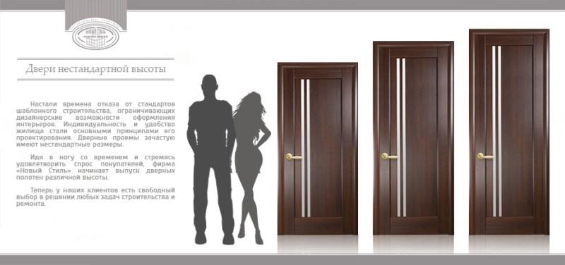 что делать если межкомнатные двери высотой 210 см