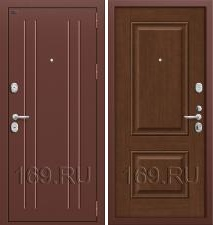 Дверь входная металлическая Groff «T2-232» Brown Oak