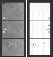 Дверь входная металлическая «Porta M П50.П50» Dark Concrete/Angel